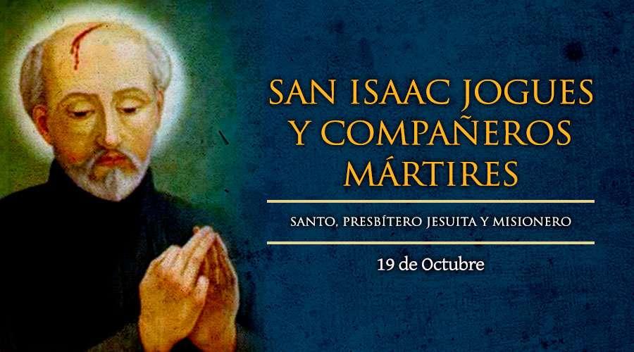 San Isaac Jogues S.j. y Compañeros Mártires