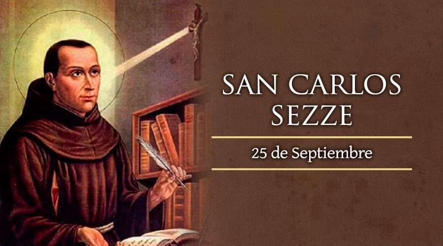 Hoy celebramos a San Carlos de Sezze