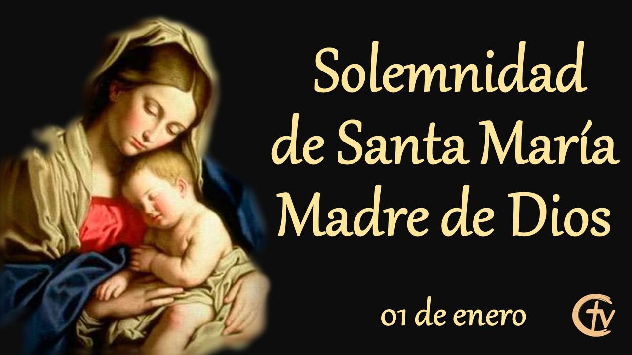 SANTO DEL DÍA || Solemnidad de Santa María, Madre de Dios