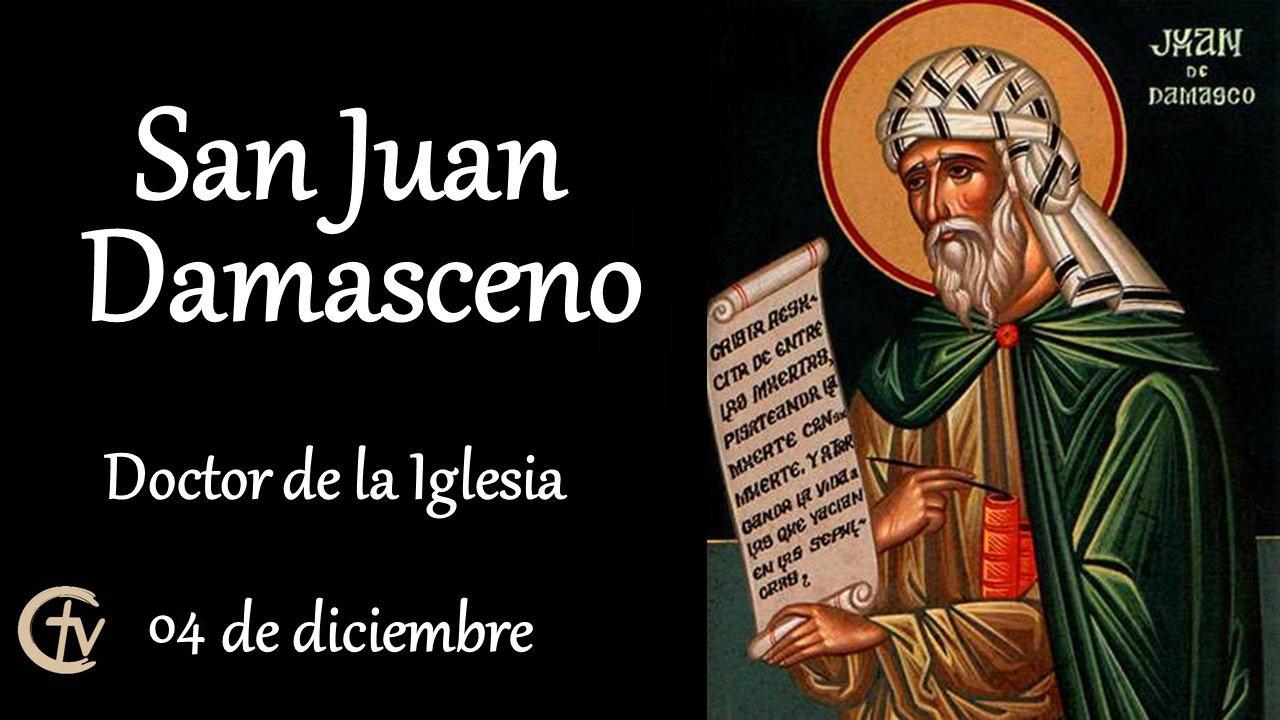 SANTO DEL DÍA || San Juan Damasceno, defensor de la veneración de imágenes