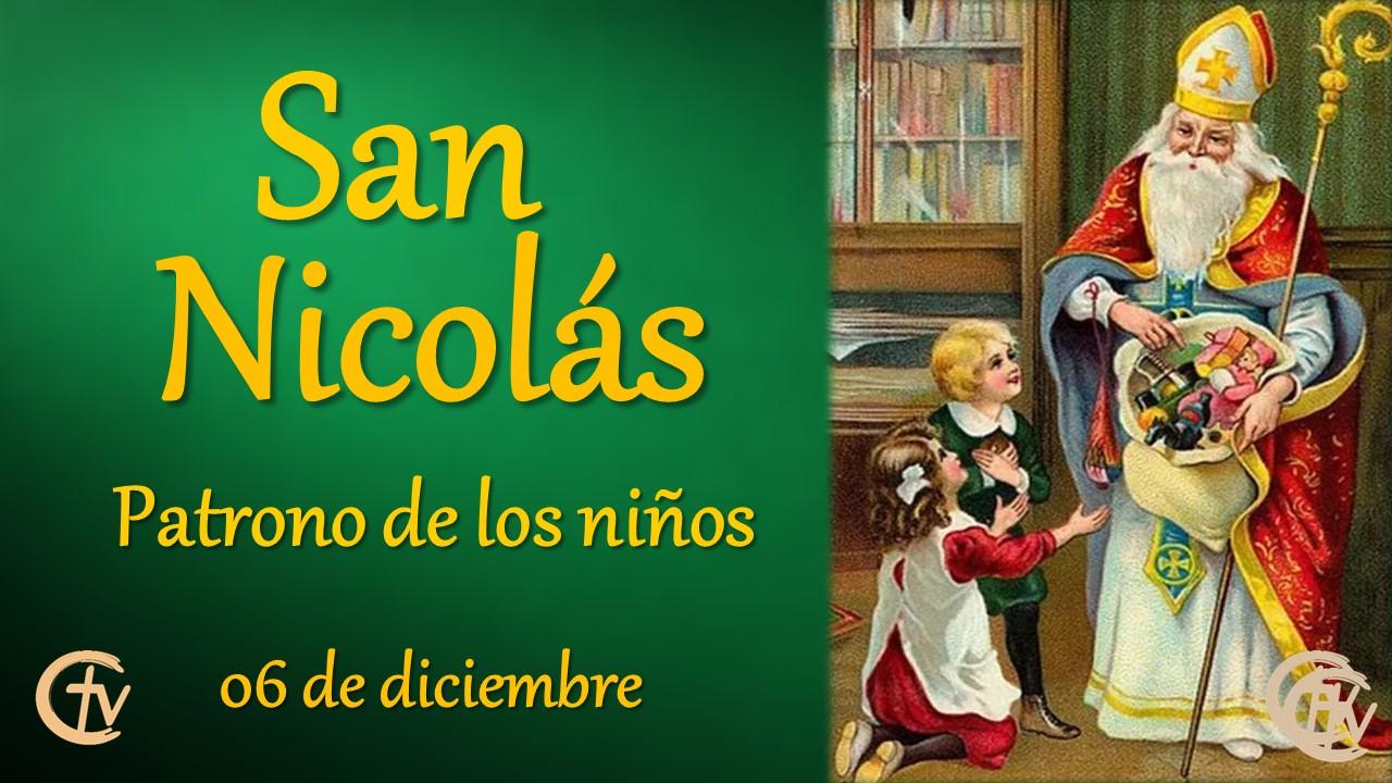 SANTO DEL DÍA || San Nicolás, patrono de los niños, marineros y viajeros