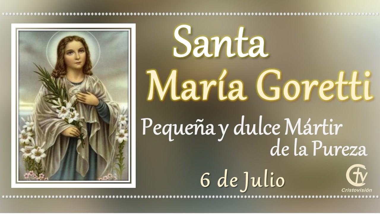 SANTO DEL DÍA || Santa María Goretti