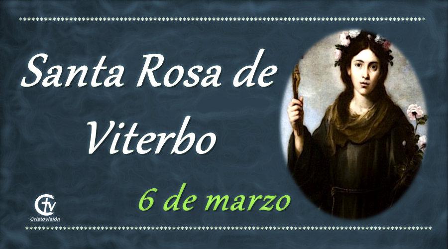 SANTO DEL DÍA || Hoy celebramos a Santa Rosa de Viterbo, Virgen
