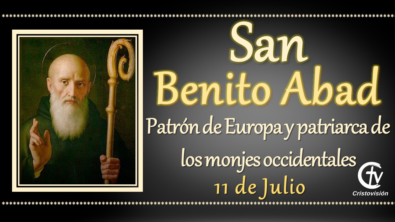 SANTO DEL DÍA    San Benito Abad