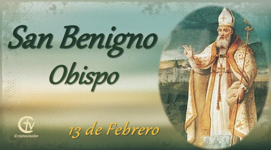 SANTO DEL DÍA, San Benigno, Obispo