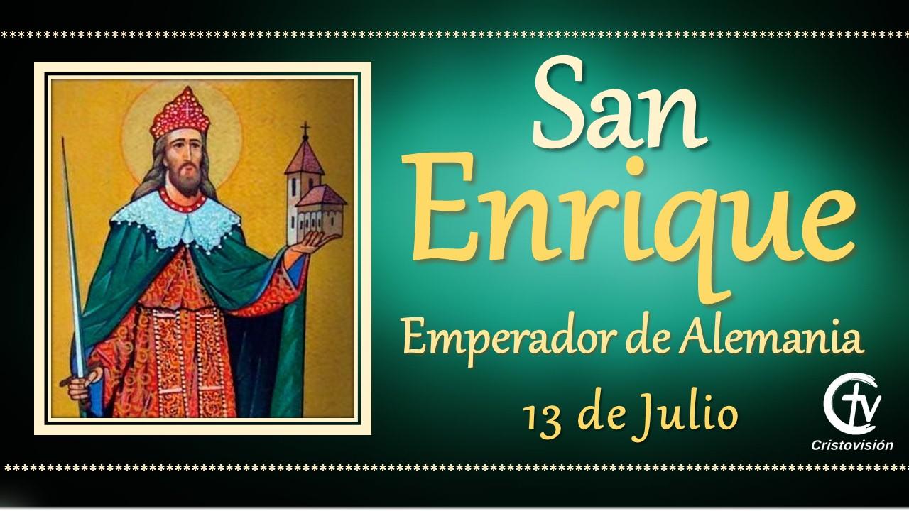 SANTO DEL DÍA    San Enrique