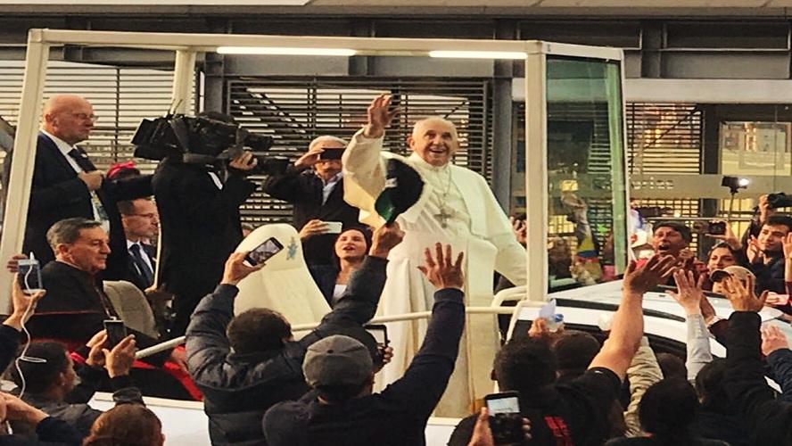 Más de 6 millones de feligreses en las actividades del Papa Francisco