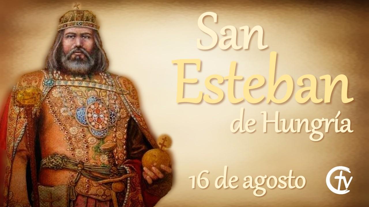 SANTO DEL DÍA || San Esteban de Hungría