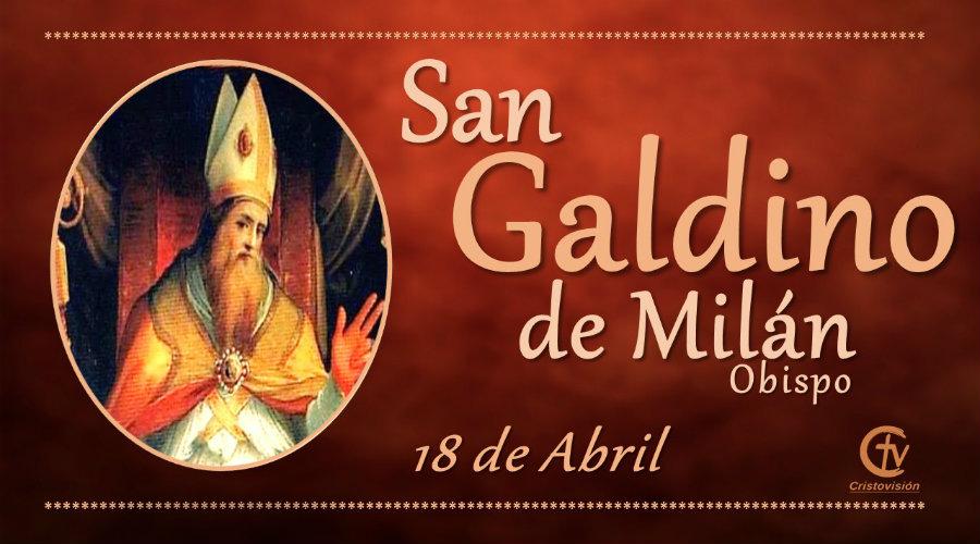 San Galdino de Milán, Obispo