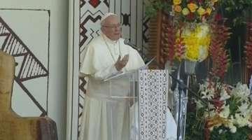 Saludo del Papa Francisco a la población de Puerto Maldonado