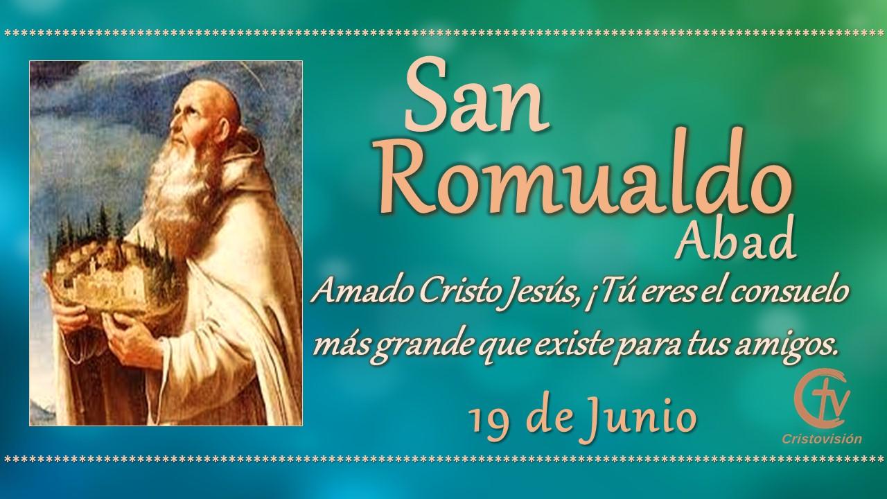 SANTO DEL DÍA || San Romualdo, Abad