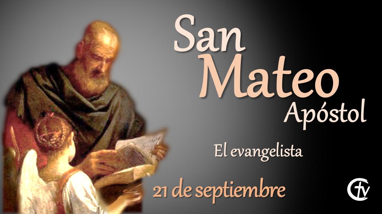 SANTO DEL DÍA || Hoy celebramos a San Mateo el Evangelista