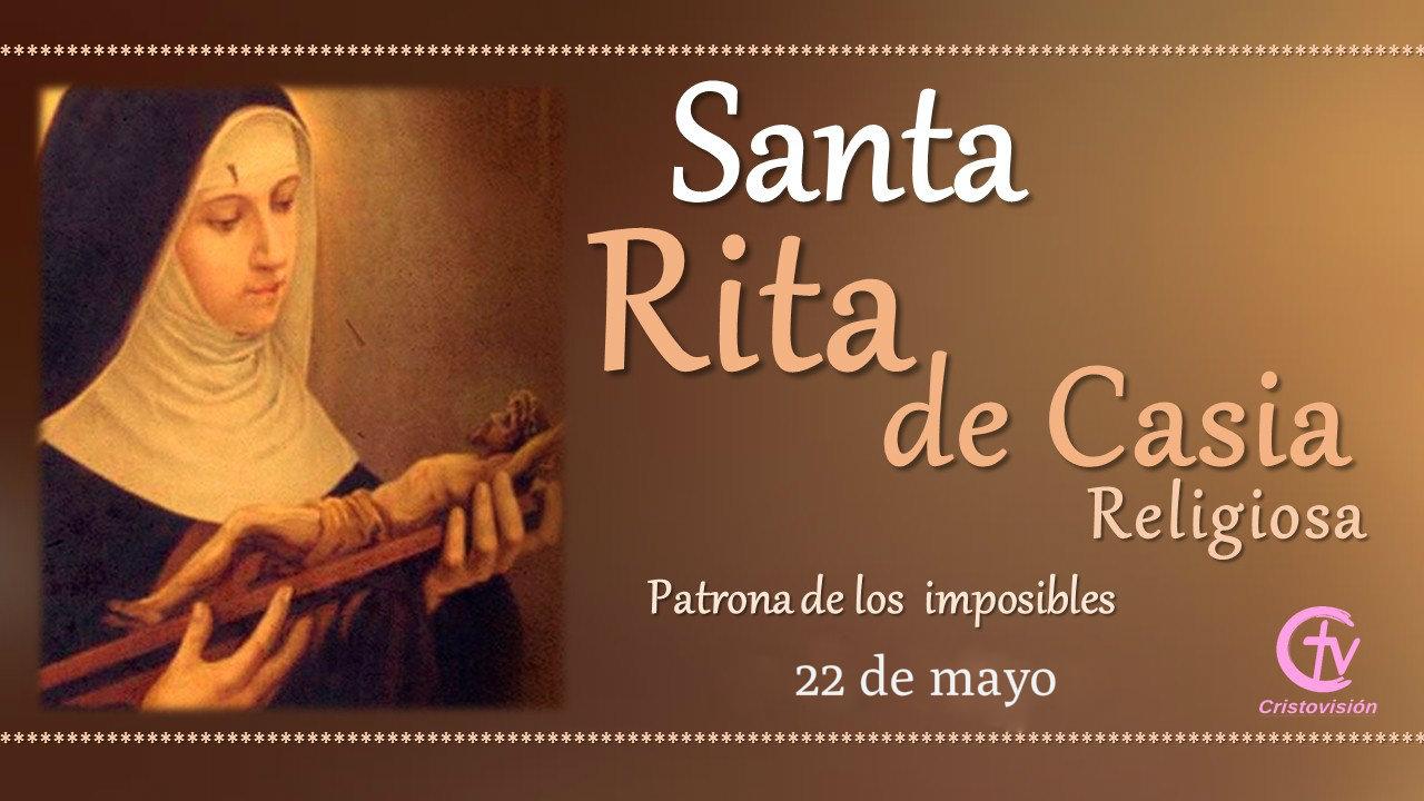 SANTO DEL DÍA    Santa Rita de Casia, religiosa