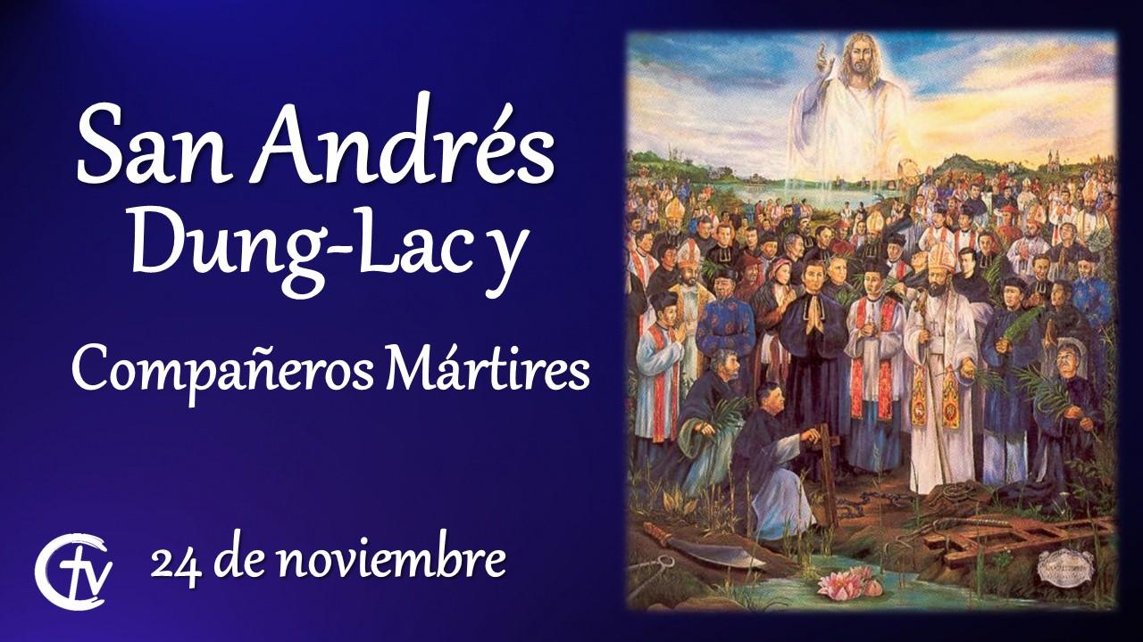 SANTO DEL DÍA || San Andrés Dung-Lac, presbítero y Compañeros Mártires