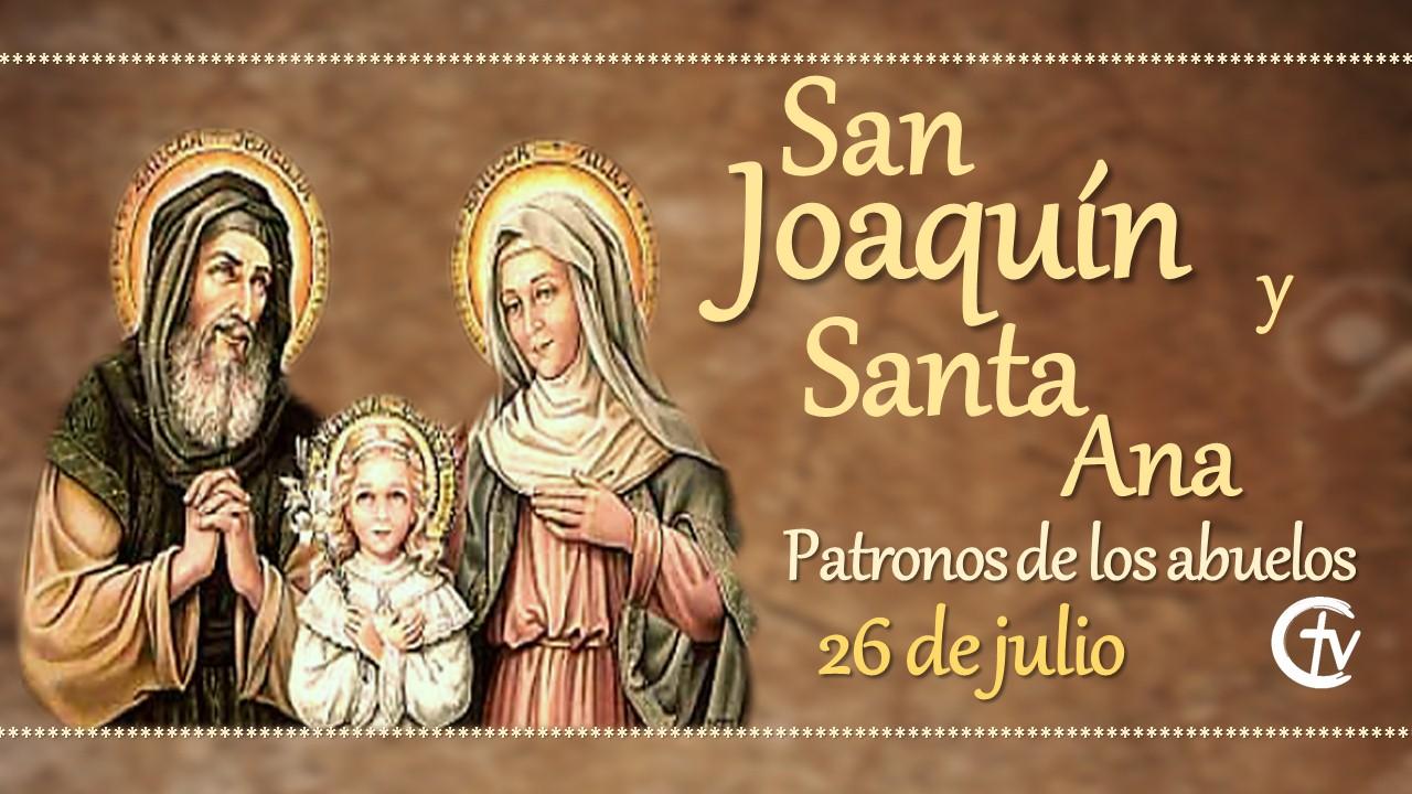 SANTO DEL DÍA || San Joaquín y Santa Ana, patronos de los abuelos