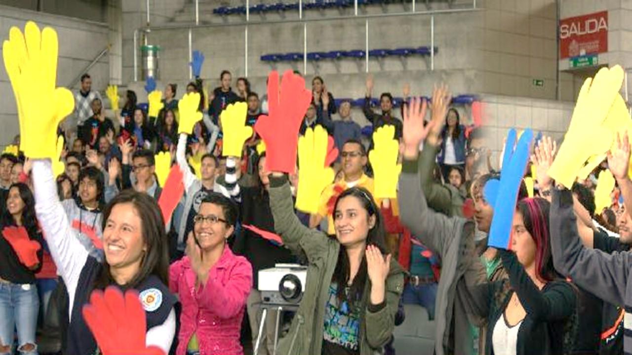Jóvenes esperan desde ya al Papa Francisco para encuentro en Bogotá