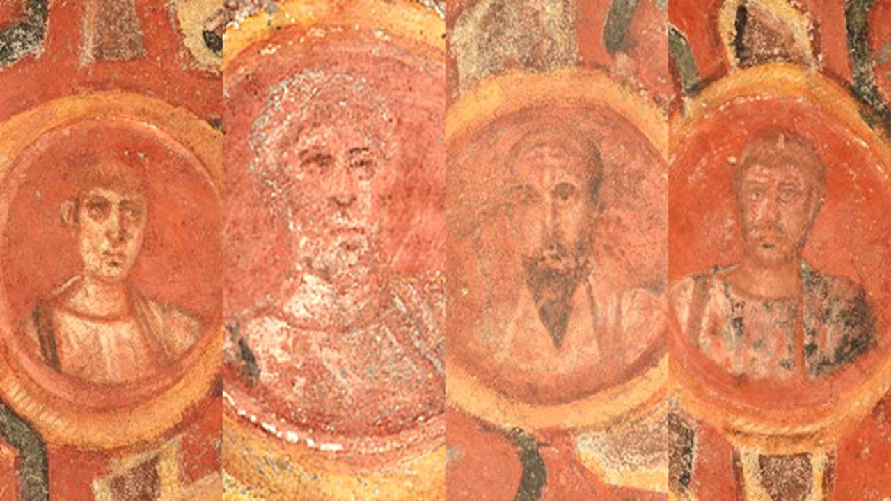 ¿Son estos los rostros de san Pedro y de san Pablo?
