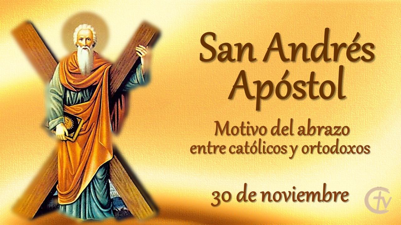 San Andrés Apóstol, motivo del abrazo entre católicos y ortodoxos