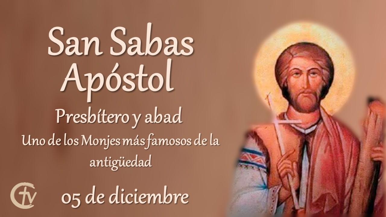SANTO DEL DÍA || San Sabas, presbítero y abad