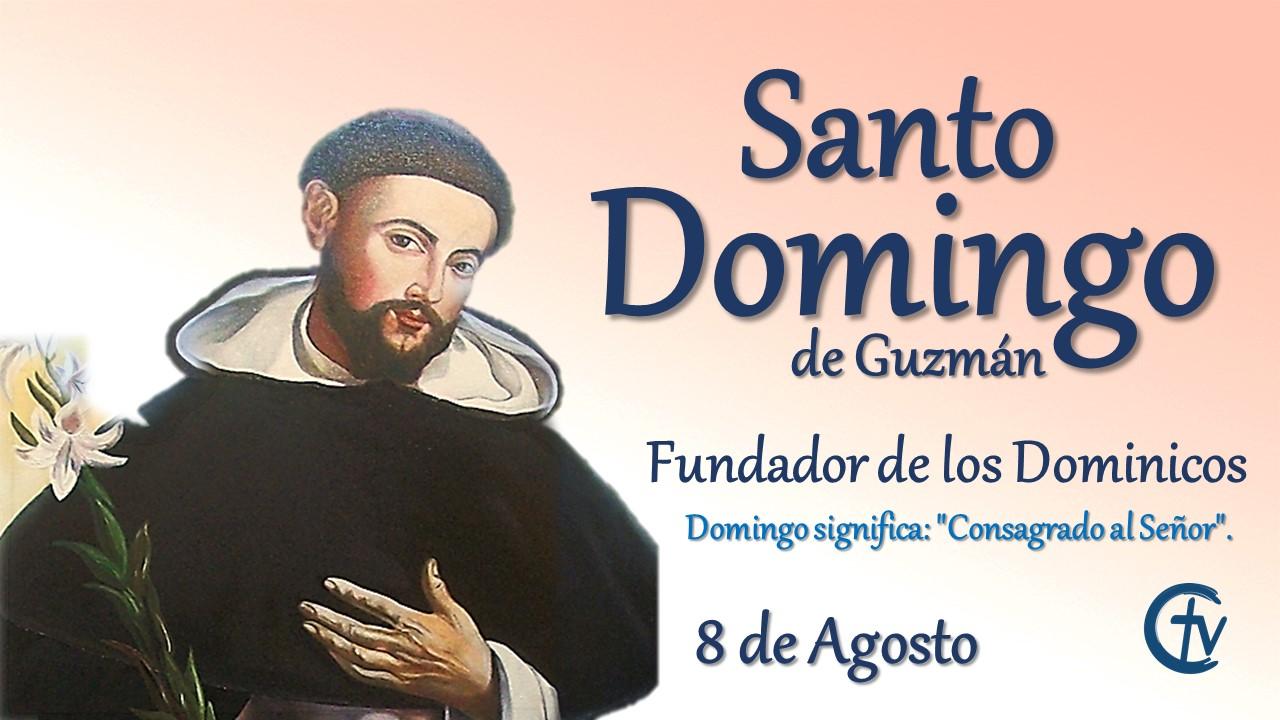SANTO DEL DÌA || Santo Domingo de Guzmán