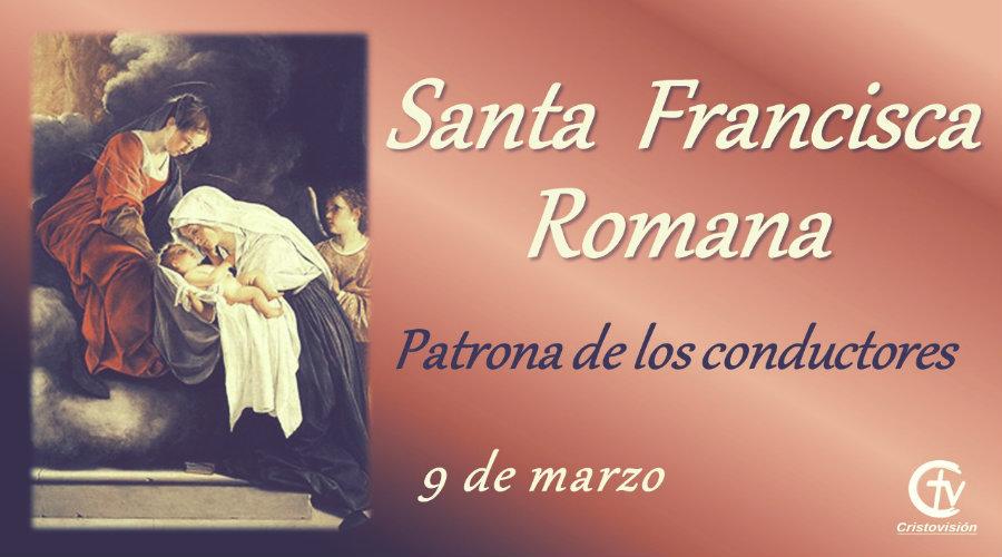 SANTO DEL DÍA || La Iglesia celebra a Santa Francisca Romana, patrona de los conductores