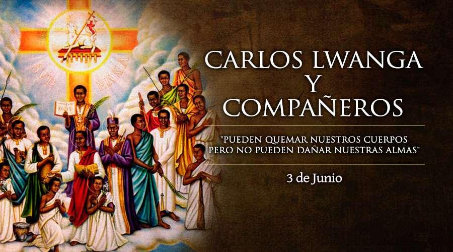 Carlos Lwanga y compañeros mártires de Uganda