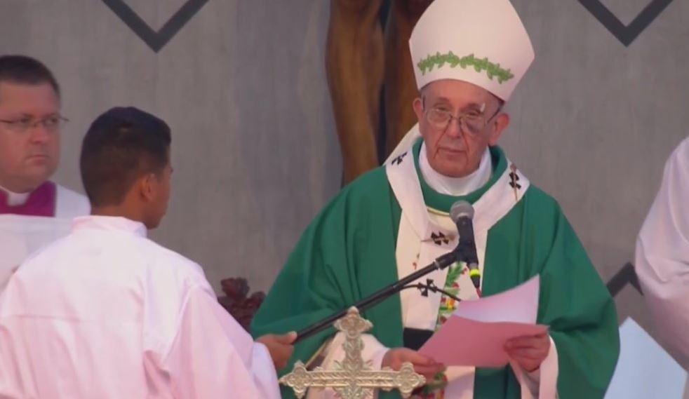 el Papa Francisco pronunció una homilía en la que reflexionó, a partir de la figura de San Pedro Claver