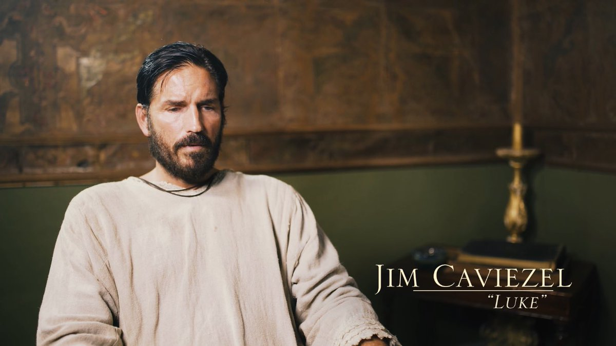 Jim Caviezel santo rosario lucas