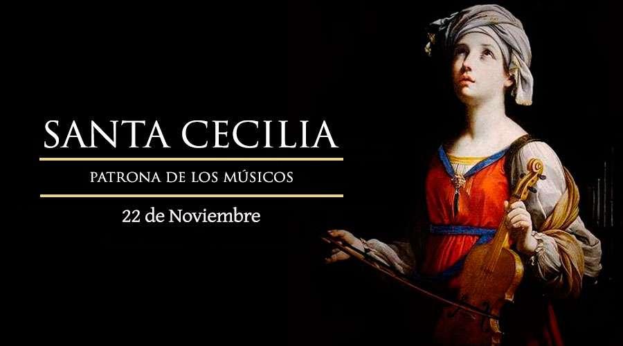 SANTO DEL DÍA || Santa Cecilia, virgen y mártir