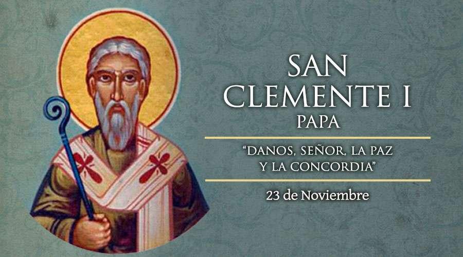 SANTO DEL DÍA || San Clemente I, Papa