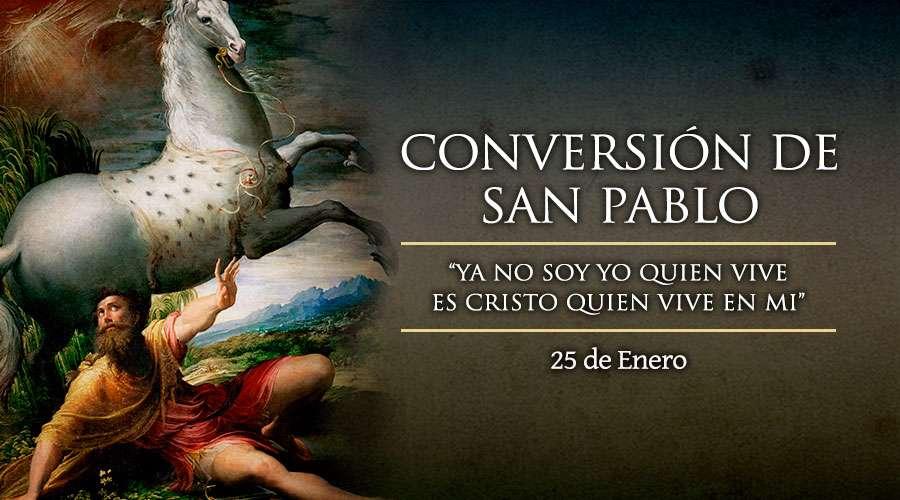SANTO DEL DÍA || Fiesta de la Conversión de San Pablo, apóstol