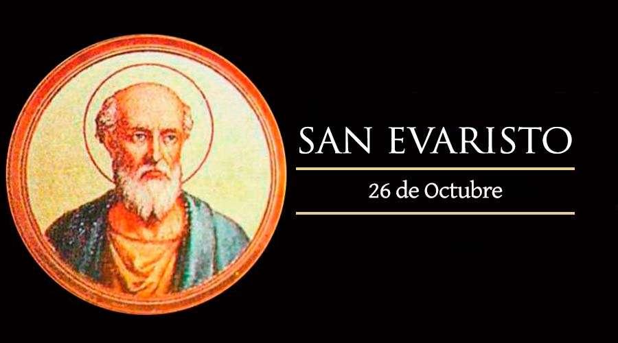 SANTO DEL DÍA || San Evaristo, Papa y Mártir