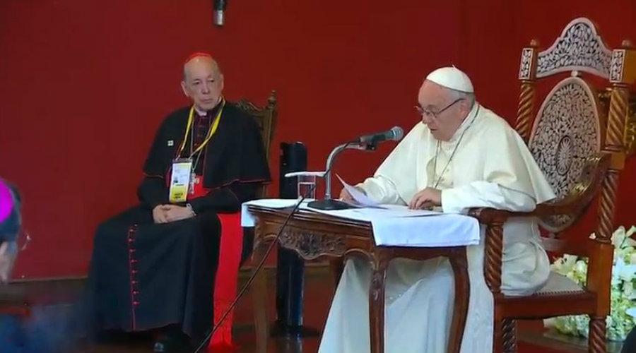 papa francisco peru encuentro con obispos lima