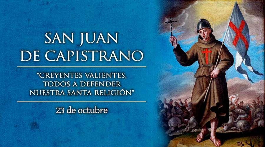 SANTO DEL DÍA || San Juan de Capistrano, Presbítero