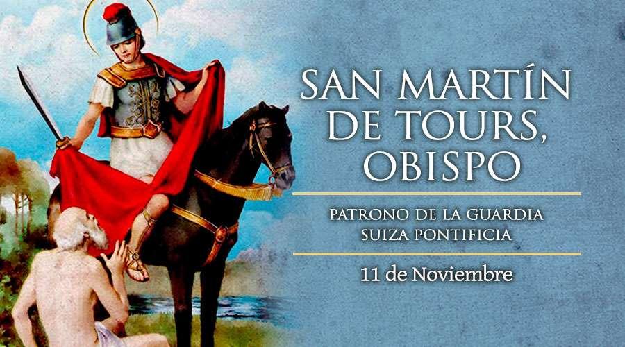SANTO DEL DÍA || San Martín de Tours, patrono de la Guardia Suiza Pontificia