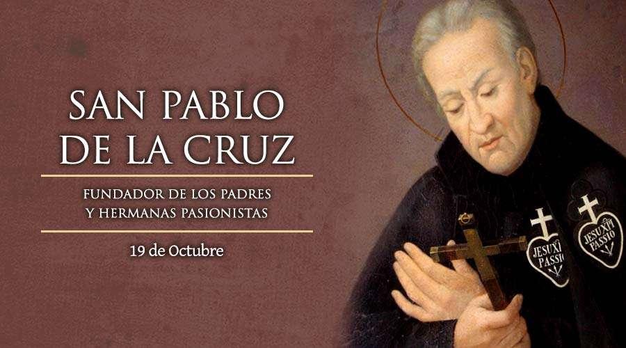 SANTO DEL DÍA || San Pablo de la Cruz, fundador