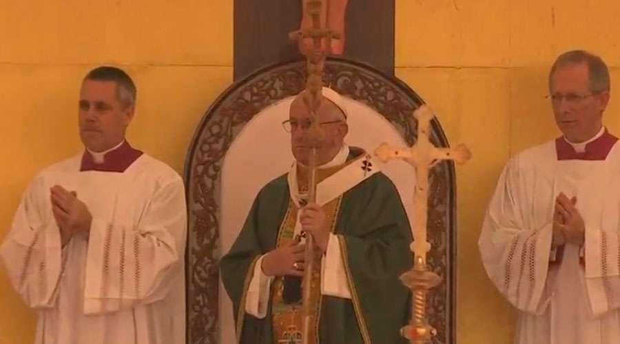 Papa Francisco en la Misa en Myanmar