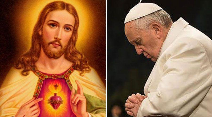 Papa Francisco invita a rezar al Sagrado Corazón de Jesús durante todo junio