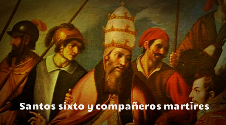 Santos sixto y compañeros martires