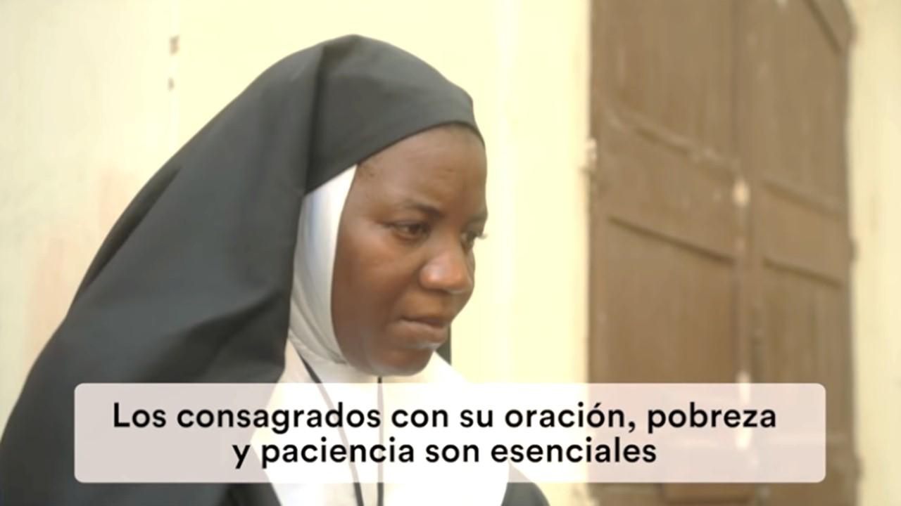 #ElVideoDelPapa #10 ||  Oremos por la misión de los consagrados y consagradas