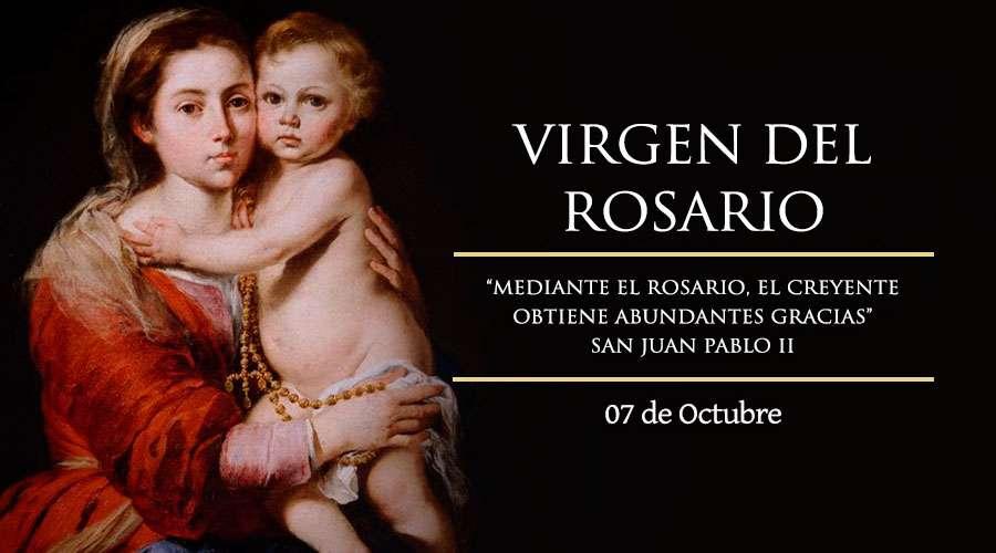 Fiesta de la Virgen del Rosario