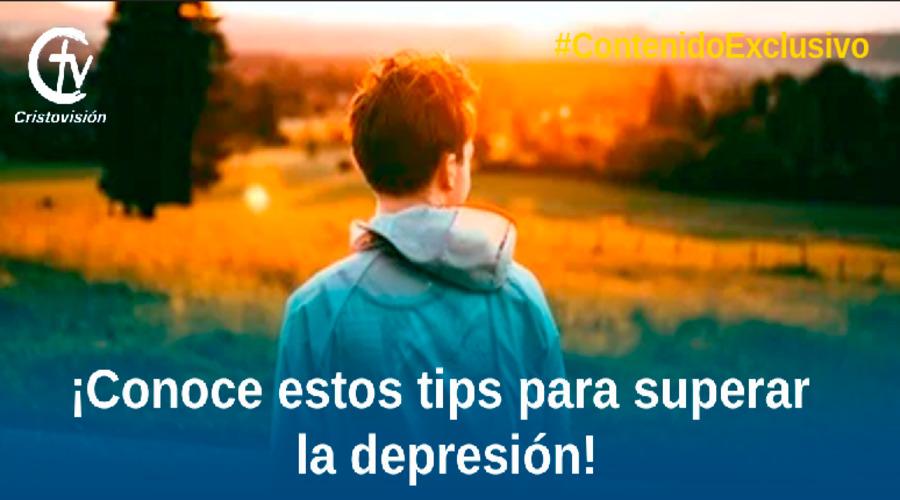 Tips para superar la depresiòn