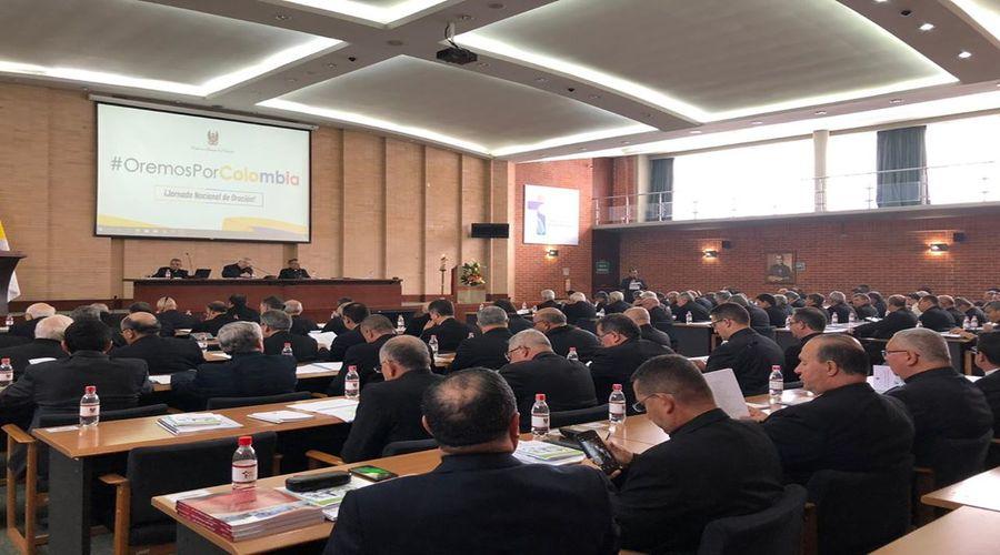 Foto CIX Asamblea Plenaria de los Obispos de Colombia.